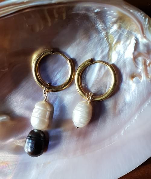 Boucles d'oreille LEONIE