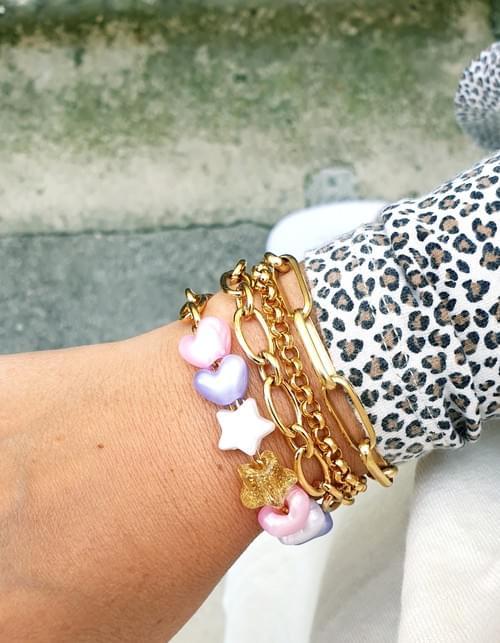 Bracelet ROSY PEARLY