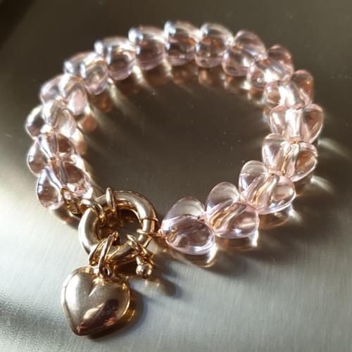 Bracelet ONE LOVE CHAMPAGNE