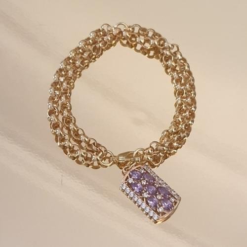 Bracelet VINTAGE PURPLE