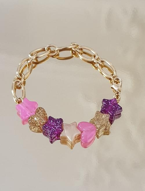 Bracelet ROSY SPARKLES