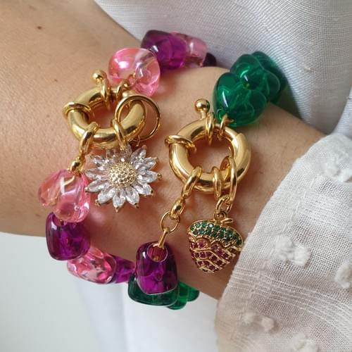 Bracelet GREEN STRAWBERRY