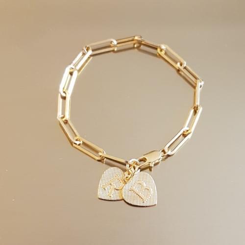 Bracelet CARACTERE 2 LETTRES