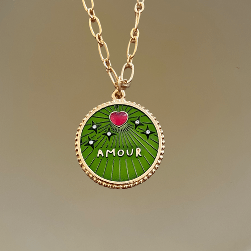 Collier AMOUR JUNGLE
