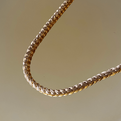 Collier THIN GOLDEN ROPE