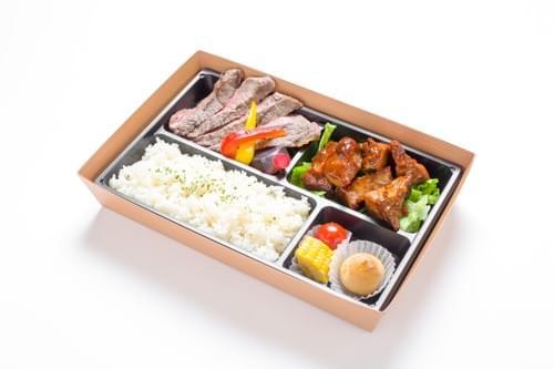 サーロインステーキ&BBQスペアリブ