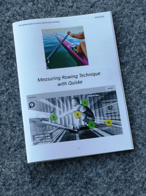 The Guide to Measuring Rowing Technique