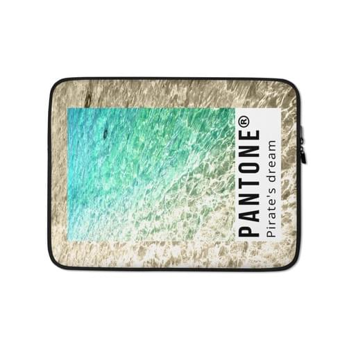 "Jungle Groove Laptop Sleeve ""Pirate's Dream"""