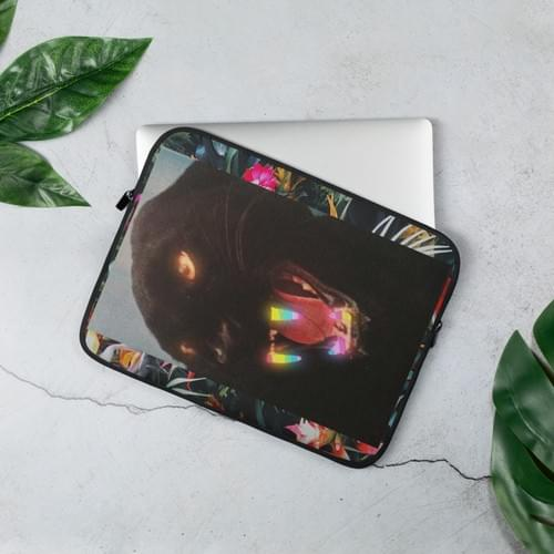 "Jungle Groove Laptop Sleeve ""Black Panther"""