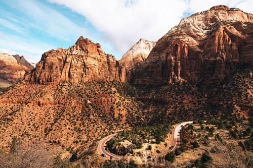 Zion Canyon Overlook 3