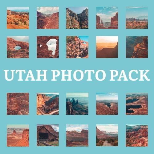 Utah Photo Pack - 20 Photos