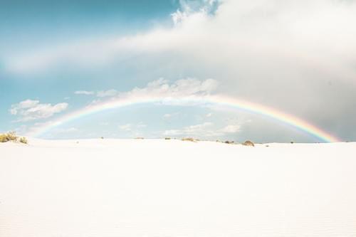 White Sands Rainbow