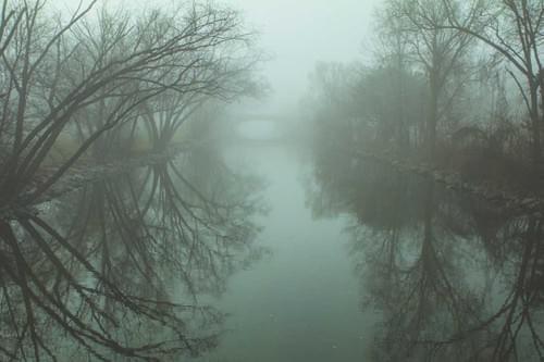 Yahara In Fog
