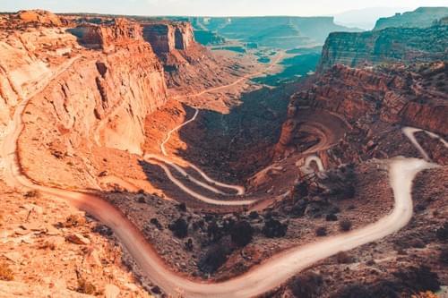 Canyonlands Shafer Trail 1