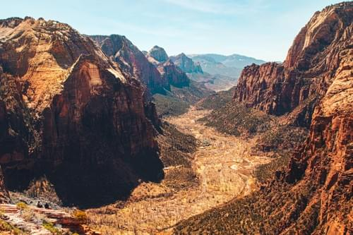 Zion Canyon From Angel's Landing