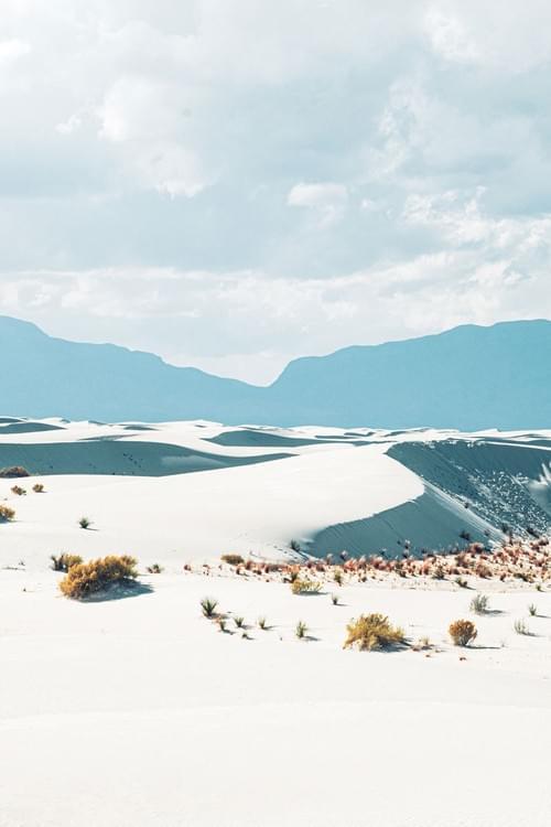White Sands Dunes 1