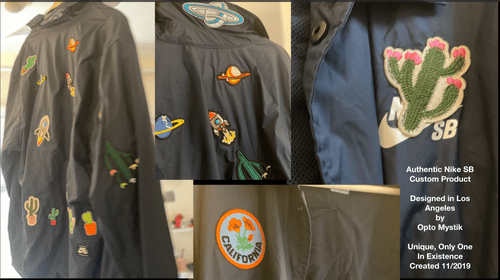 Nike SB Rocket Ship Cactus Coaches Jacket