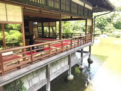 D: Visit a Real Samurai Summer House, Drink Tea, & Feed the Koi! Then Lunch!