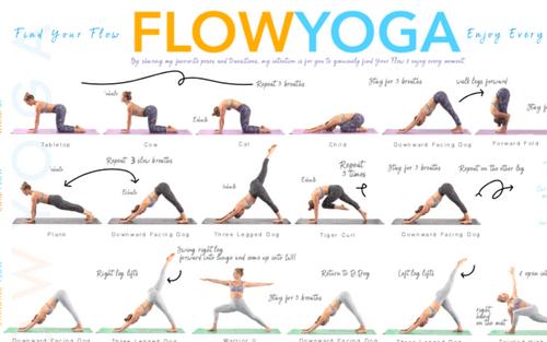 Yoga Poster BACK IN STOCK