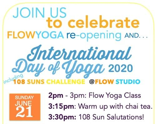 International Day of Yoga 2020