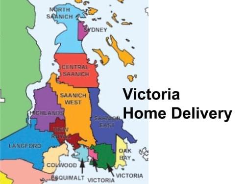 送货到家服务(维多利亚地区)