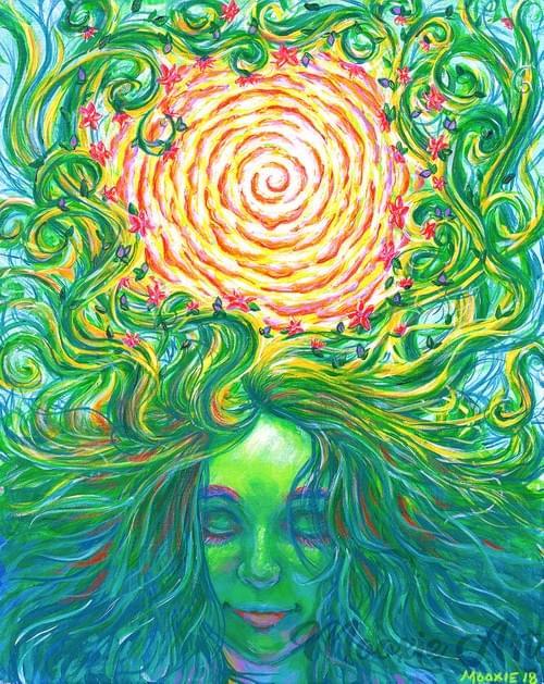 Gaia, Welcome Home - Giclee Print
