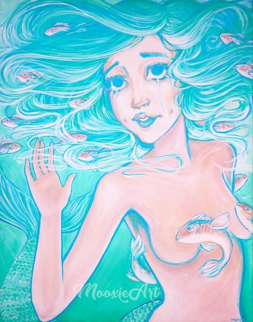 Sirian Mermaid - Giclee Print
