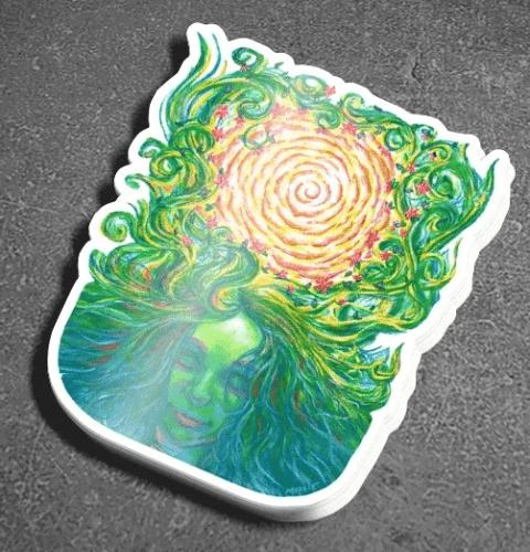 """Gaia - 3"""" Vinyl Sticker"""