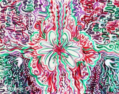 Feminine Flow - Giclee Print