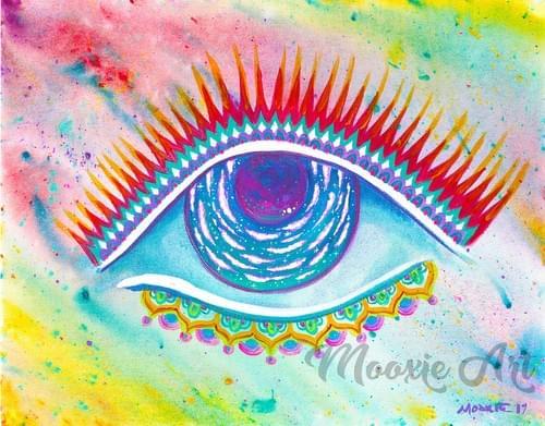 Galactic Eye - Giclee Print