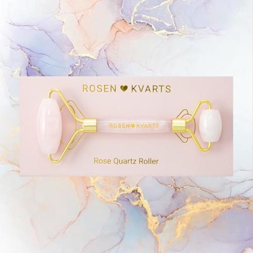 ROSENKVARTS Rose Quartz Roller