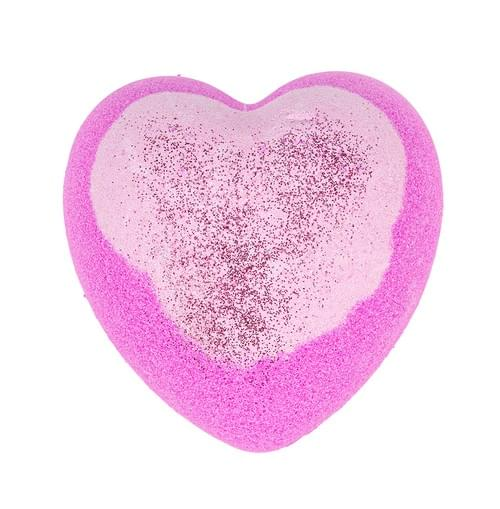 Glitter Heart badebombe