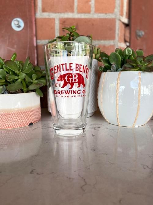 Bear Down Pint Glass