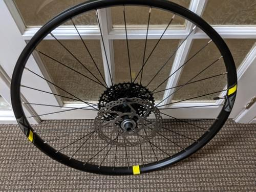 Sold - 27.5 Rear Wheel with Cassette and Rotor