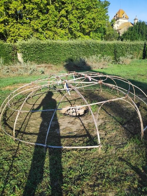 Osons rayonner - Cercle d'hommes & Huttes de sudation à côté d'Avignon - 5-6 Juin 2021