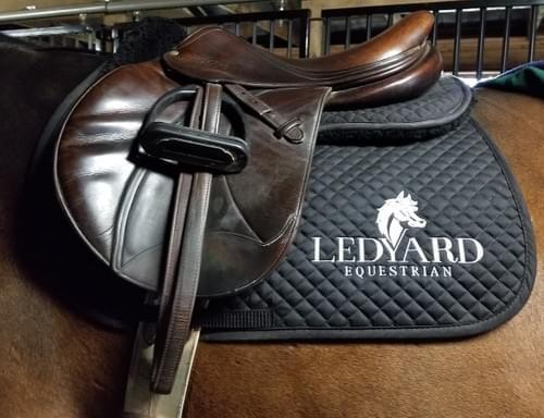 Ledyard Equestrian Saddle Pad