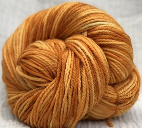 'Bee-Have' - 8ply 100gram - 100% natural plant-dyed tri-tone Australian Merino wool