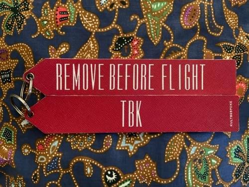 RBF Aviation Tag
