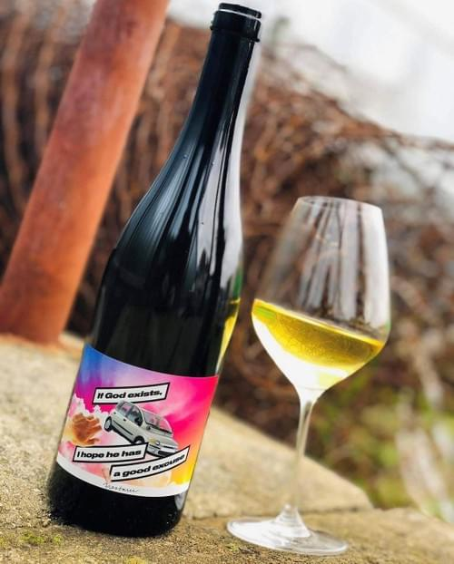 """Nestarec """"If God exists, I hope he has a good excuse"""" 2017+2018+2019 #riesling"""