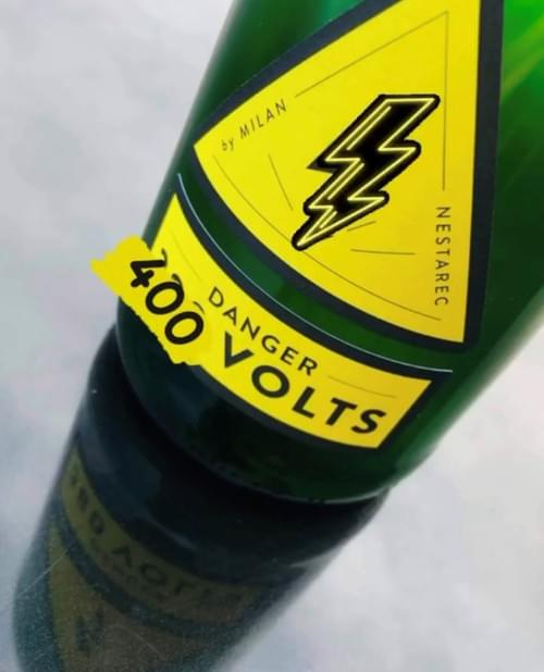"Nestarec ""Danger 380 volts"" 2020 #neuburg-muller-muscat"