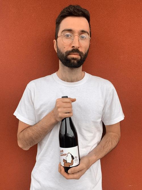"""Karim Vionnet """"Du Beur dans les Pinards"""" #gamay"""