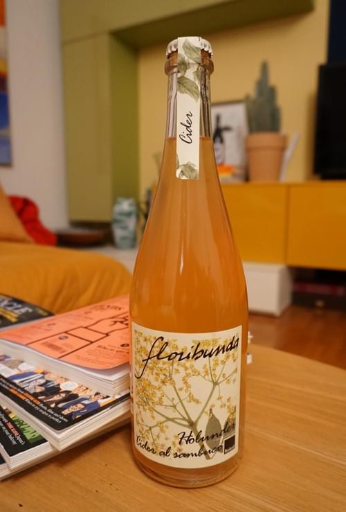 "Floribunda ""Cider Elderflower"" #Cider"