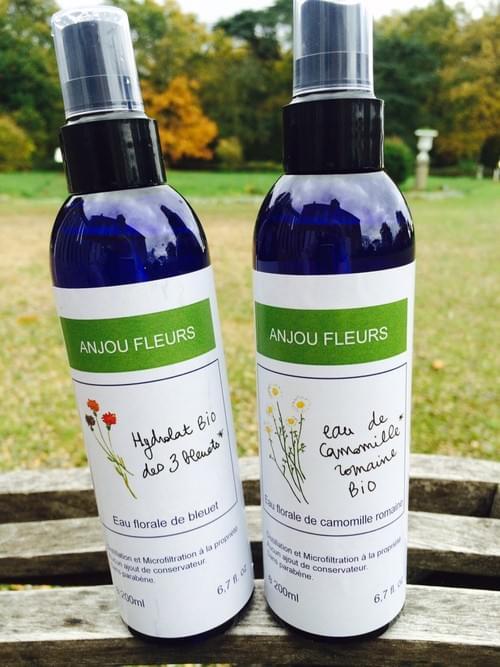 Duo d'eaux florales