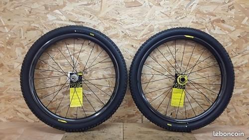 Paire de roues mavic xa pro carbon 27.5
