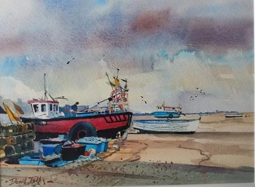 Fishing boats at Aldeburgh