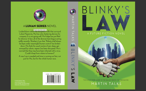 Blinky's Law - signed paperback copy
