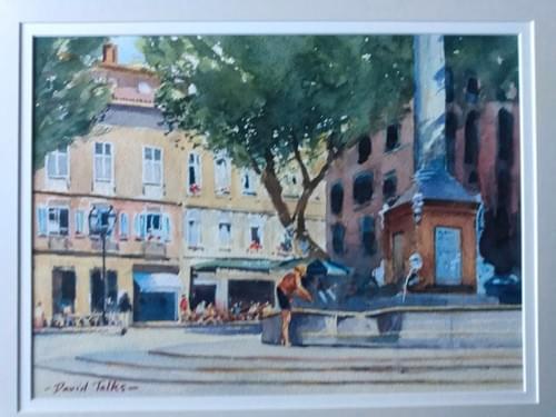 A corner of Aix-en-Provence