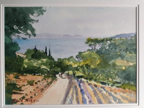 Walking to the sea, Provence