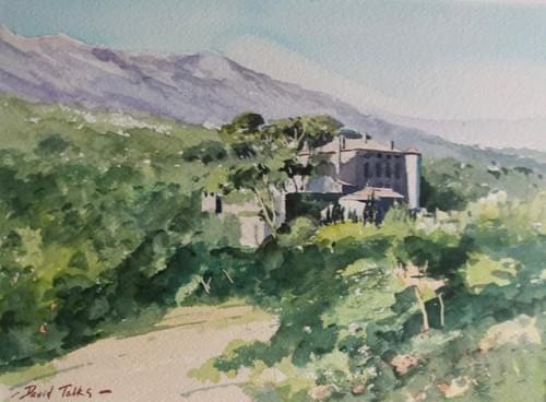 Le chateau de Picasso, Vauvenargues, Provence
