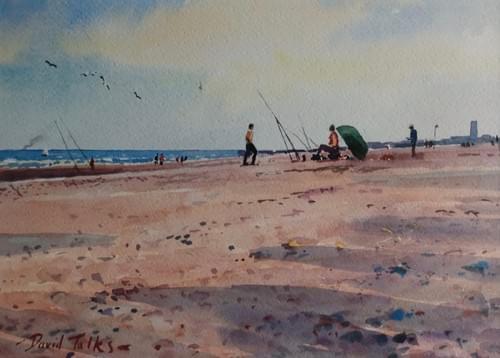 Beach casting